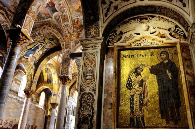 Iglesia de la Martorana: monumentos de Palermo