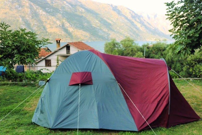 Ir de camping en Montenegro