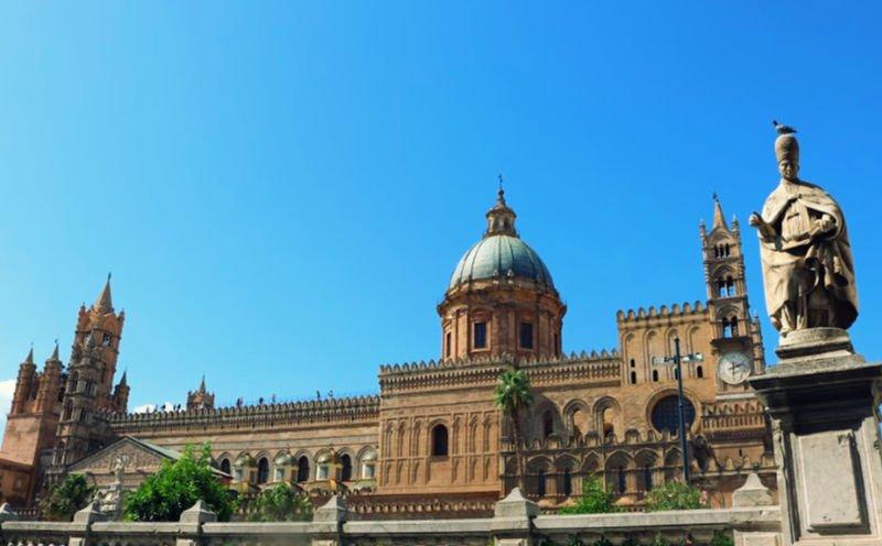 La Catedral de Palermo, uno de sus monumentos principales