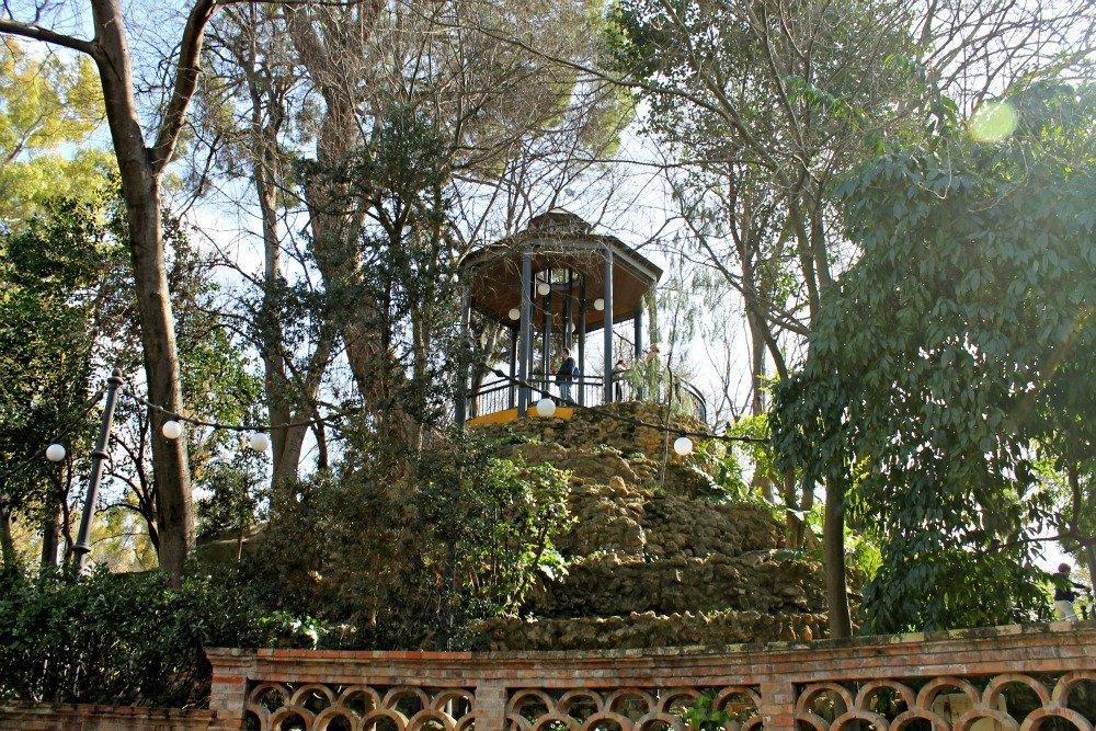 Parque de María Luisa en otoño