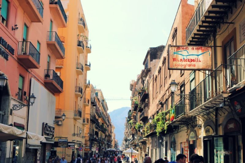 Pasear por las calles de Palermo