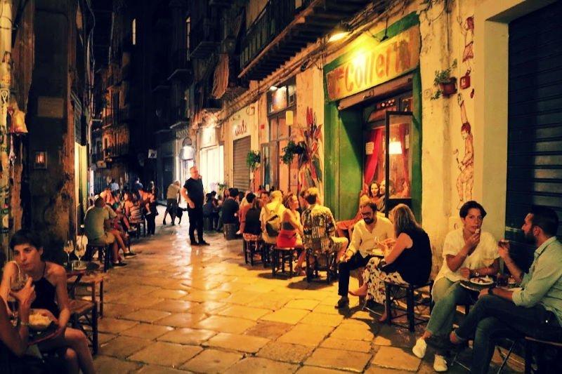 Tomar el aperitivo en Palermo
