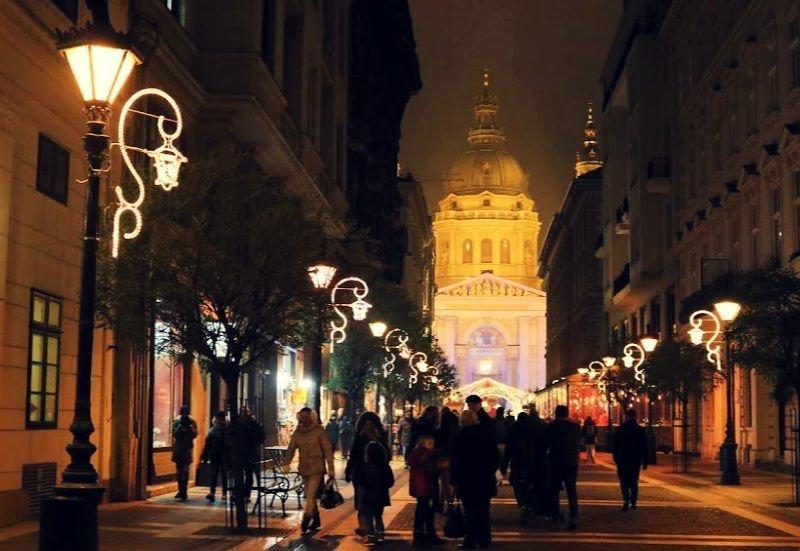 Viajar a Budapest en Navidad