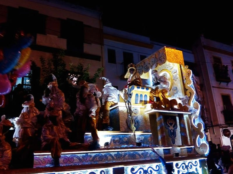 Cabalgata de los Reyes Magos 2020 en Sevilla