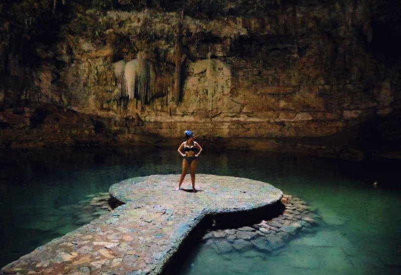 Cenote Suytun uno de los cenotes más bonitos de Yucatán