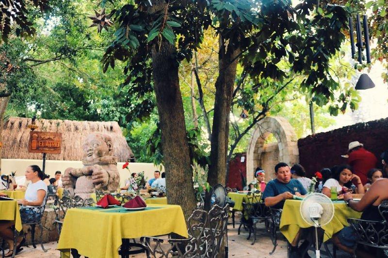 Comer en El Atrio en Valladolid