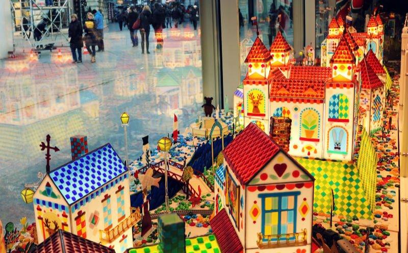 Decoración de Navidad en Bratislava