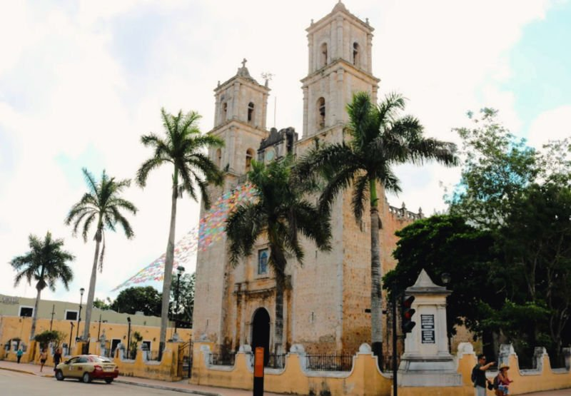 La iglesia castigada de Yucatán