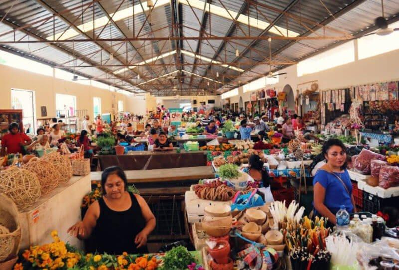 Mercado de abastos de Valladolid México