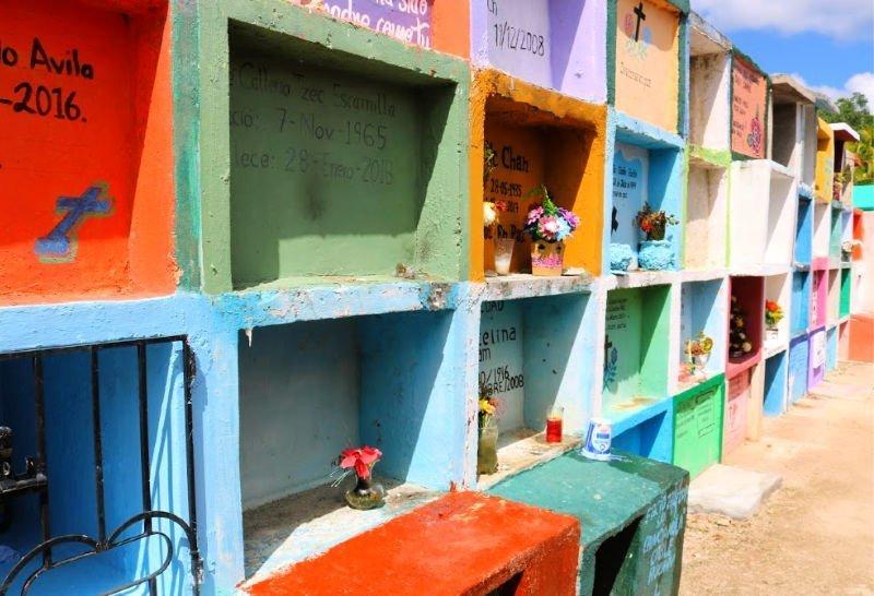 Nichos de colores en México