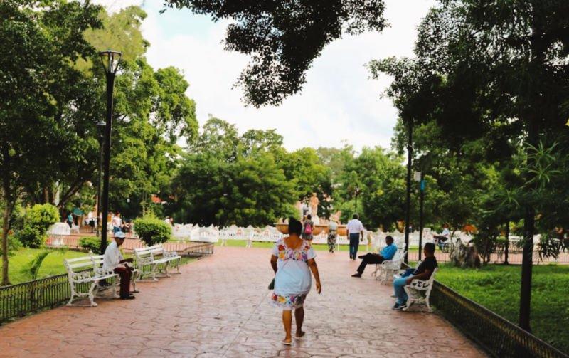 Parque central que ver en Valladolid