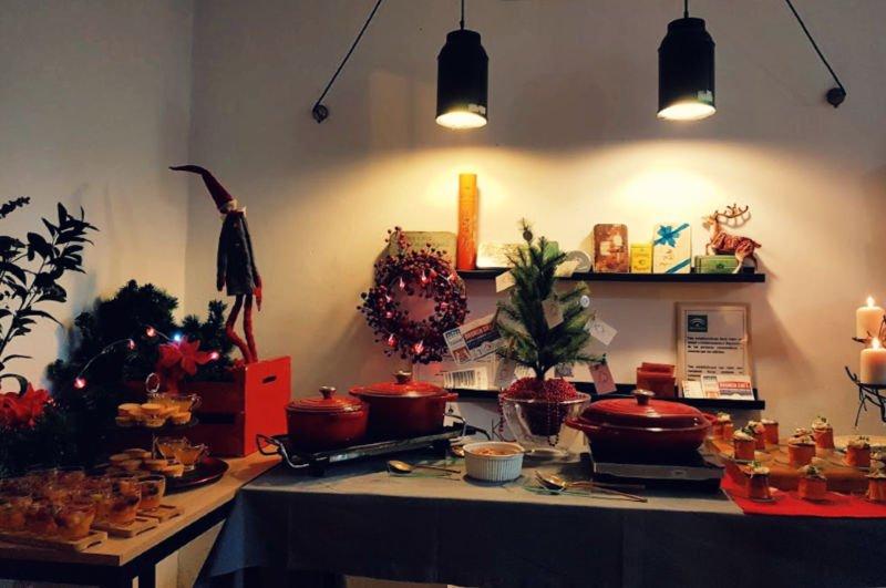 Taller cocina de navidad en Sevilla