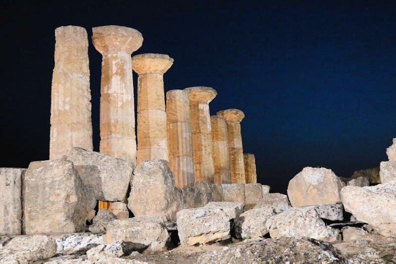 Templo de Hércules en Sicilia
