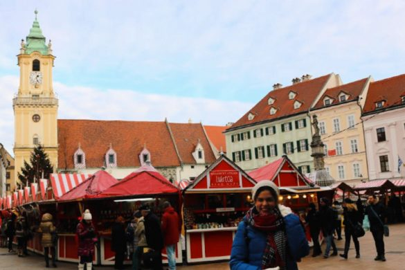 Viajar a los mercadillos navideños de Bratislava en navidad