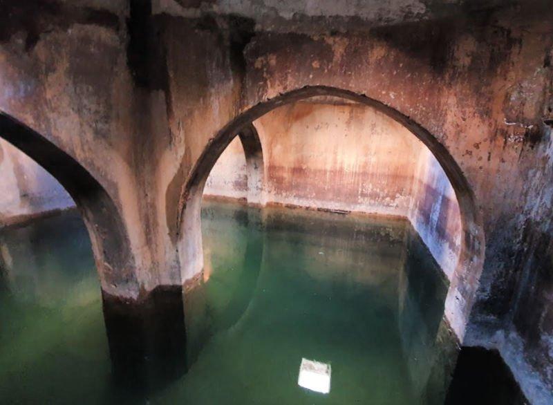 Aljibe del castillo de Castellar