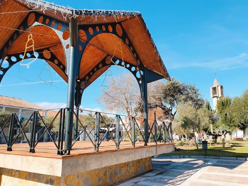 El pueblo de Nuevo Castellar en Cádiz