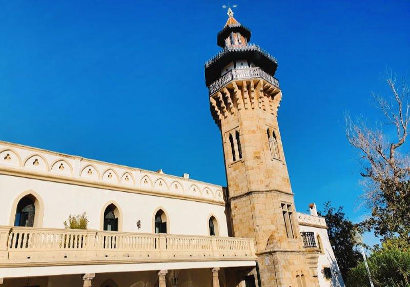 La espectacular torre del Convento de la Almoraima