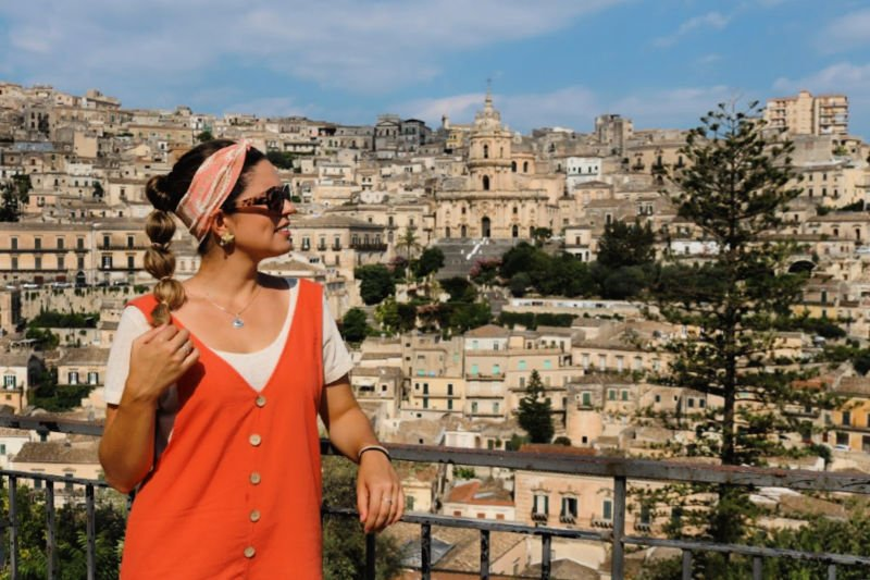 Espectacular panorámica de Módica - Viajar a Sicilia por libre