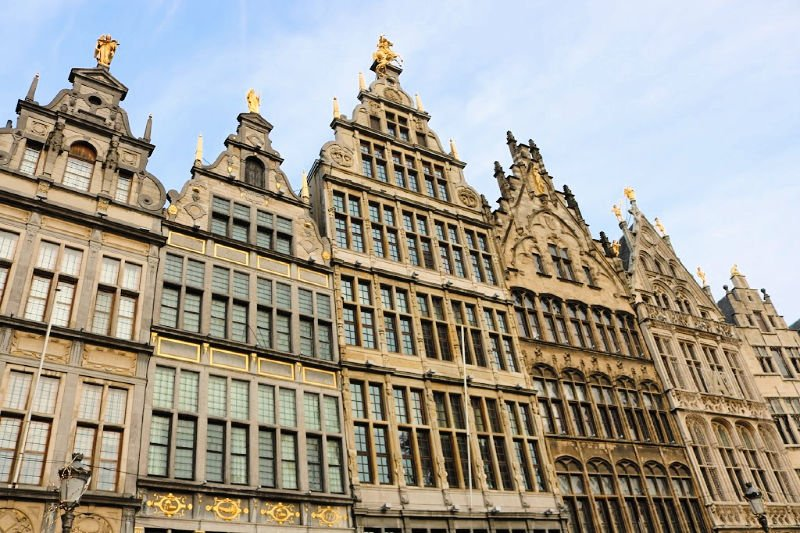 Las casas de Amberes, una excursión que ver cerca de Bruselas