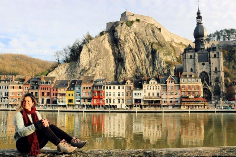 Qué ver en Dinant: las vistas desde el río
