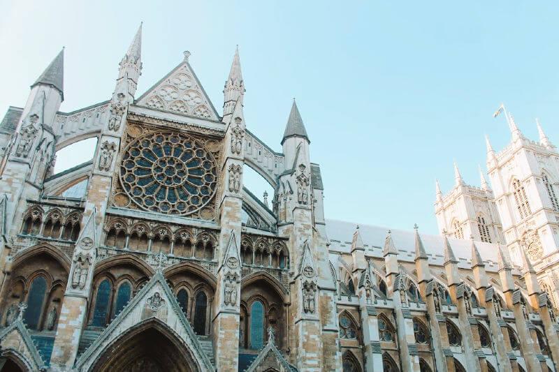 Abadía de Westminster, donde se casan los reyes