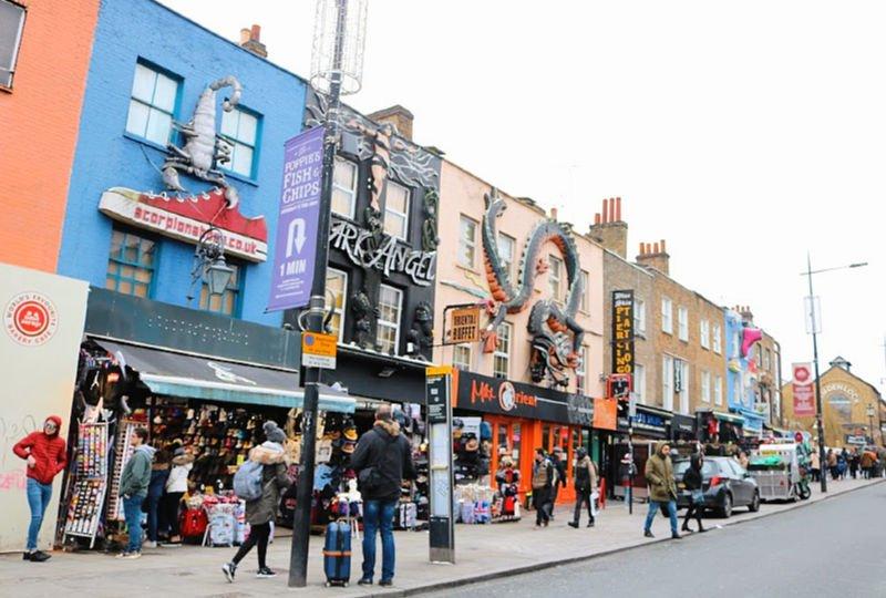 Candem, uno de los barrios mas típicos de Londres