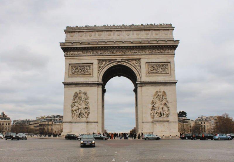 El Arco del Triunfo, de lo mejor que ver en París