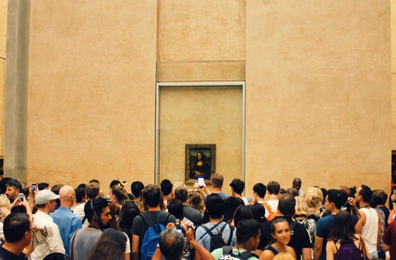 La Monalisa, entre el top 10 de obras del Louvre