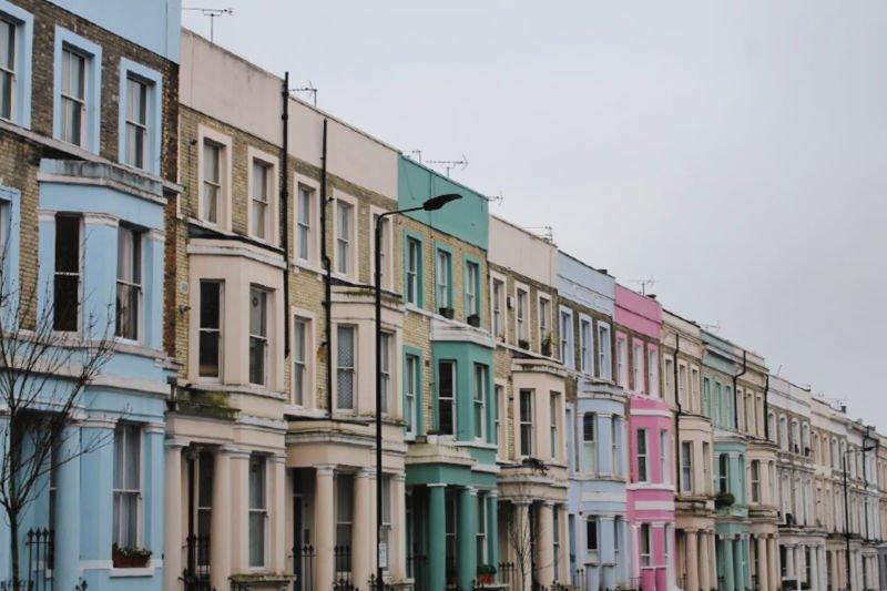 Las casas de colores de Nothing Hill - Visitar Londres