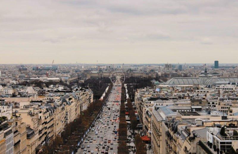 Los Campos Elíseos ,la Quinta Avenida parisina