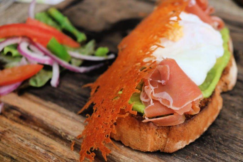 Parte de nuestro desayuno rico - Qué hacer en Playa del Carmen