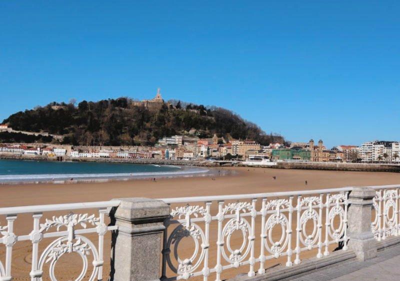 Playa de la Concha de San Sebastián - Qué visitar en la provincia de Giupúzcoa