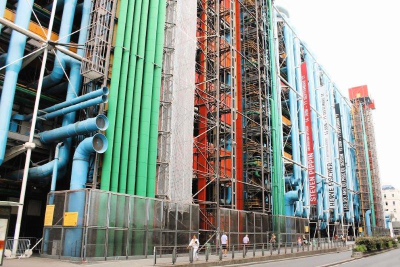 Pompidou, uno de los mejores museos de París