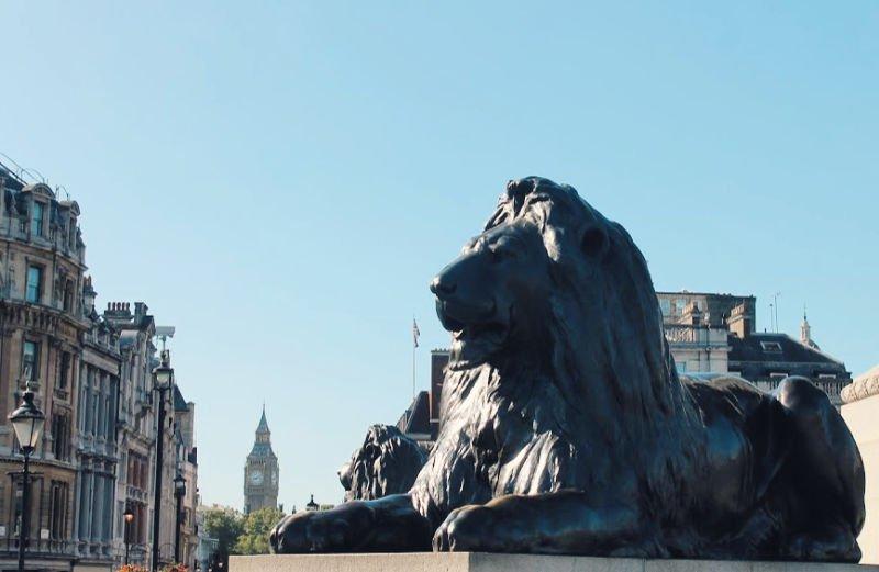 Qué hacer en Londres en Trafalgar Square