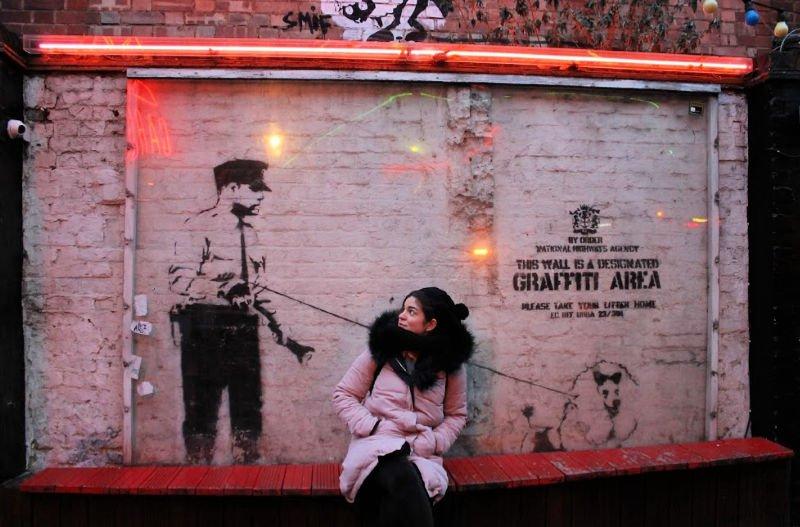 Ruta por los graffitis de Banksy en Londres