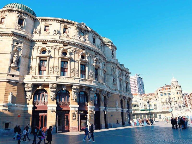 Teatro Arrigarraga - Qué ver en Bilbao casco antiguo
