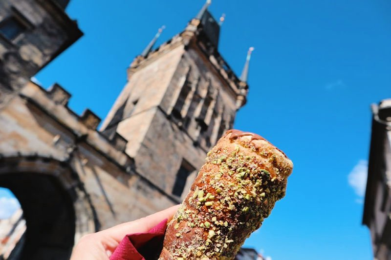 Chimeneas, el dulce típico checo... o húngaro