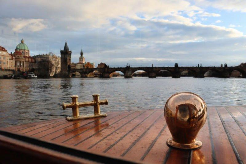Crucero por el río Moldava