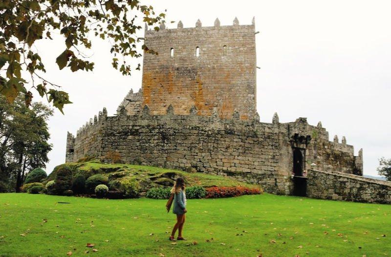 El Castillo de Soutomaoir en Galicia
