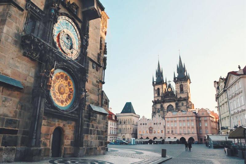 La Iglesia de Tyn, turismo en República Checa