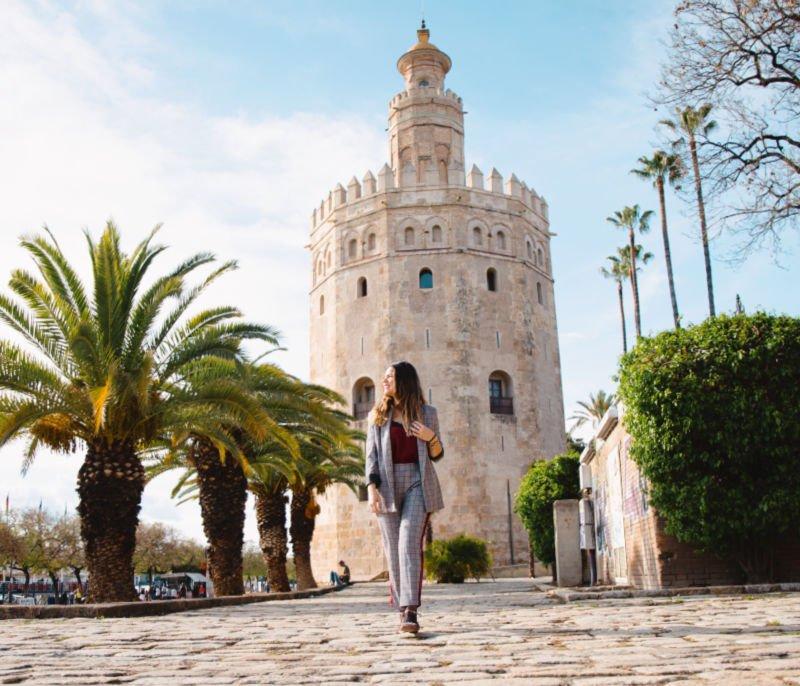 La Torre del Oro, uno de los monumentos más famosos
