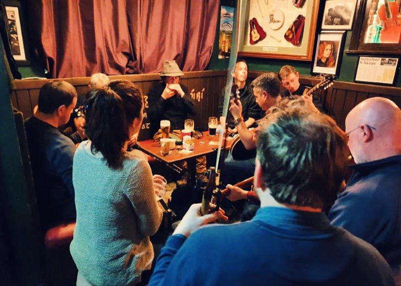 Música celta en directo en Irlanda