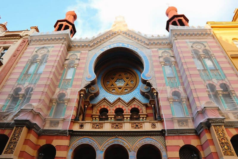 Visitar las sinagogas de Praga más importantes