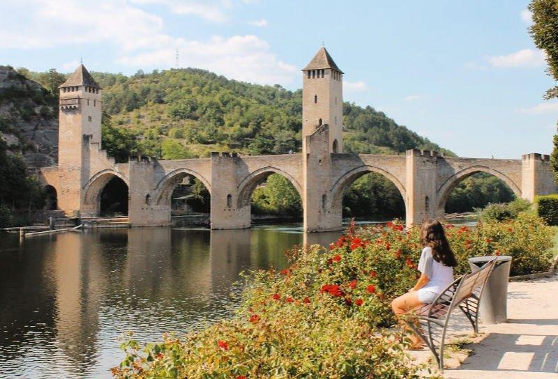 El puente medieval de Cahors