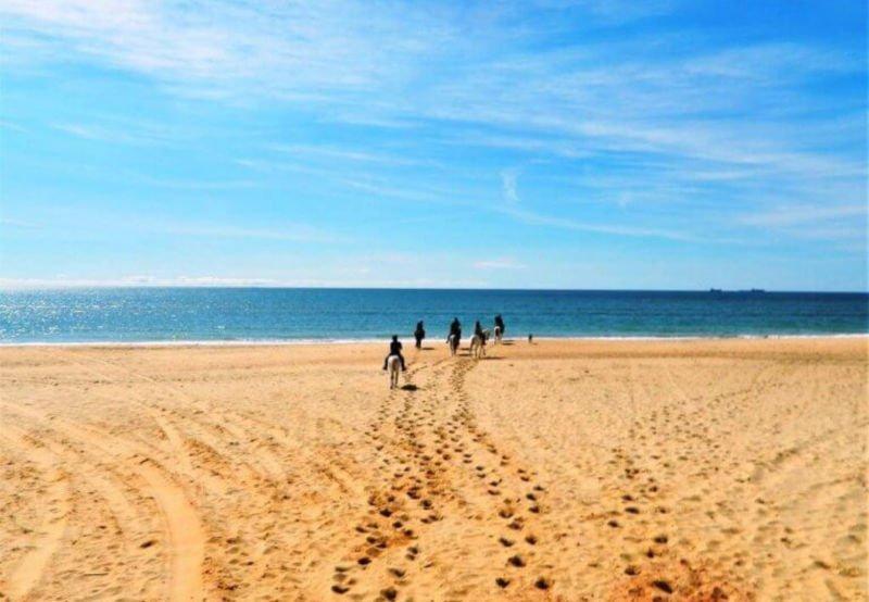Playas de Huelva cerca de Sevilla