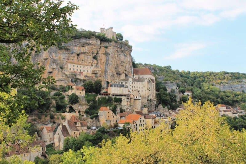 Rocamadour, uno de los pueblos más bonitos de Francia