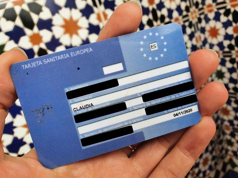 Tarjeta Sanitaria para viajar por Europa