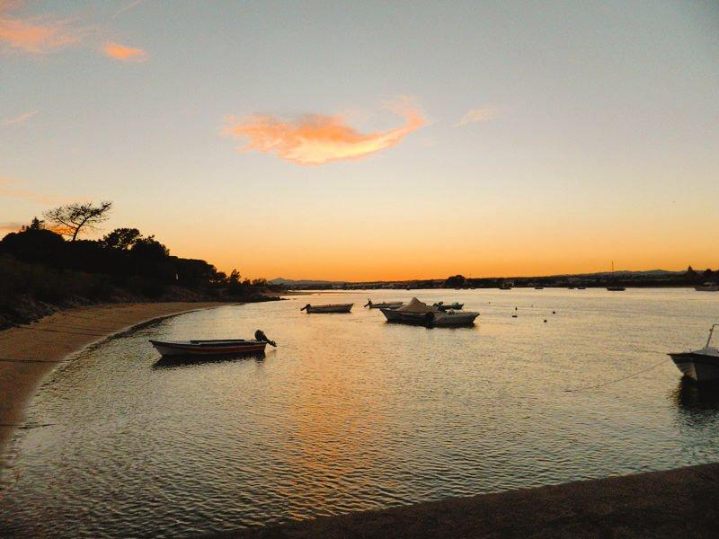 Atardeceres en el Algarve desde la Isla de Tavira