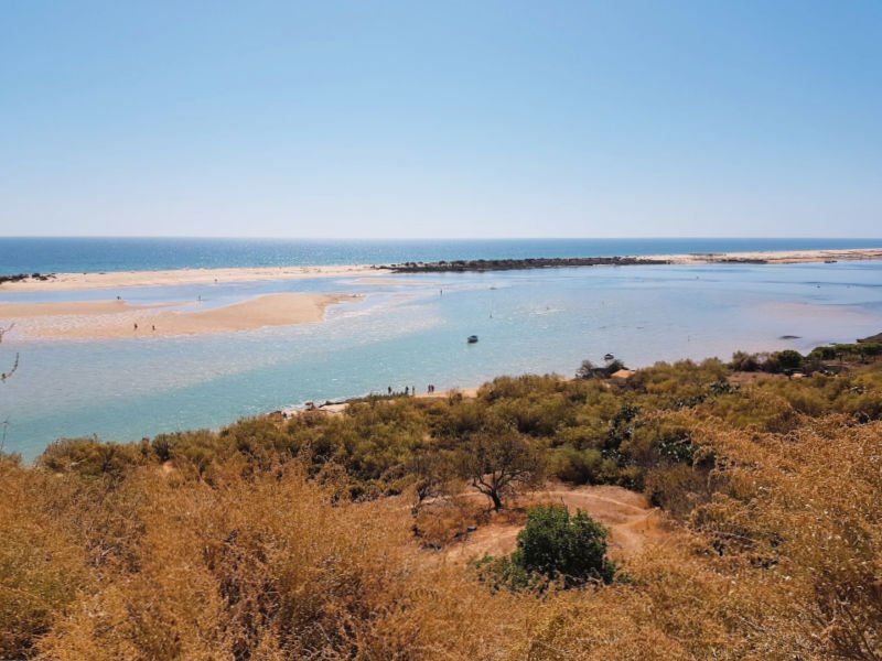 Cacela Velha en el Algarve