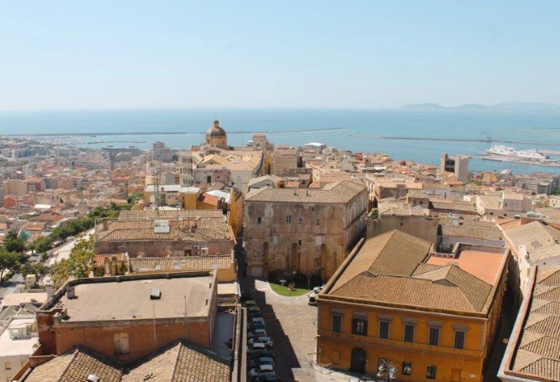 Cagliari y las hermosas vistas desde su mirador